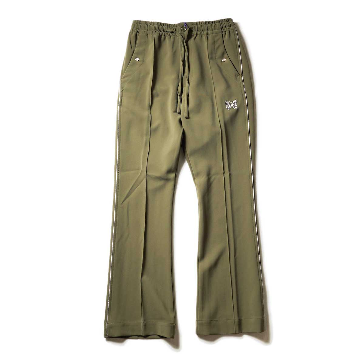 (Ladie's) Needles / Piping Cowboy Pants - Pe/Pu Double Cloth (Olive)