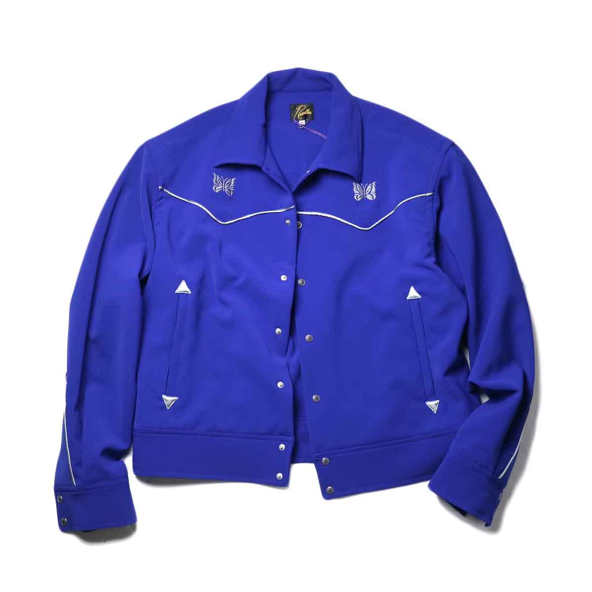 Needles / PIPING COWBOY JAC - PE/PU DOUBLE CLOTH (Royal)