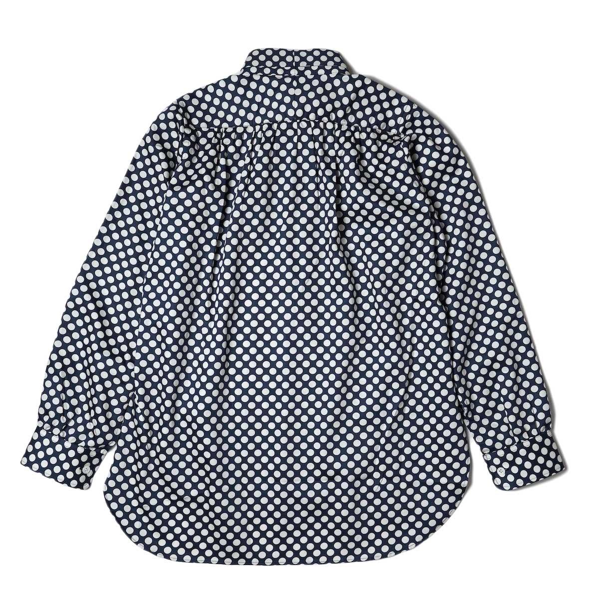 Needles / Ascot Collar EDW Shirt - Cotton Sateen / Pt (Polka Dot A) 背面