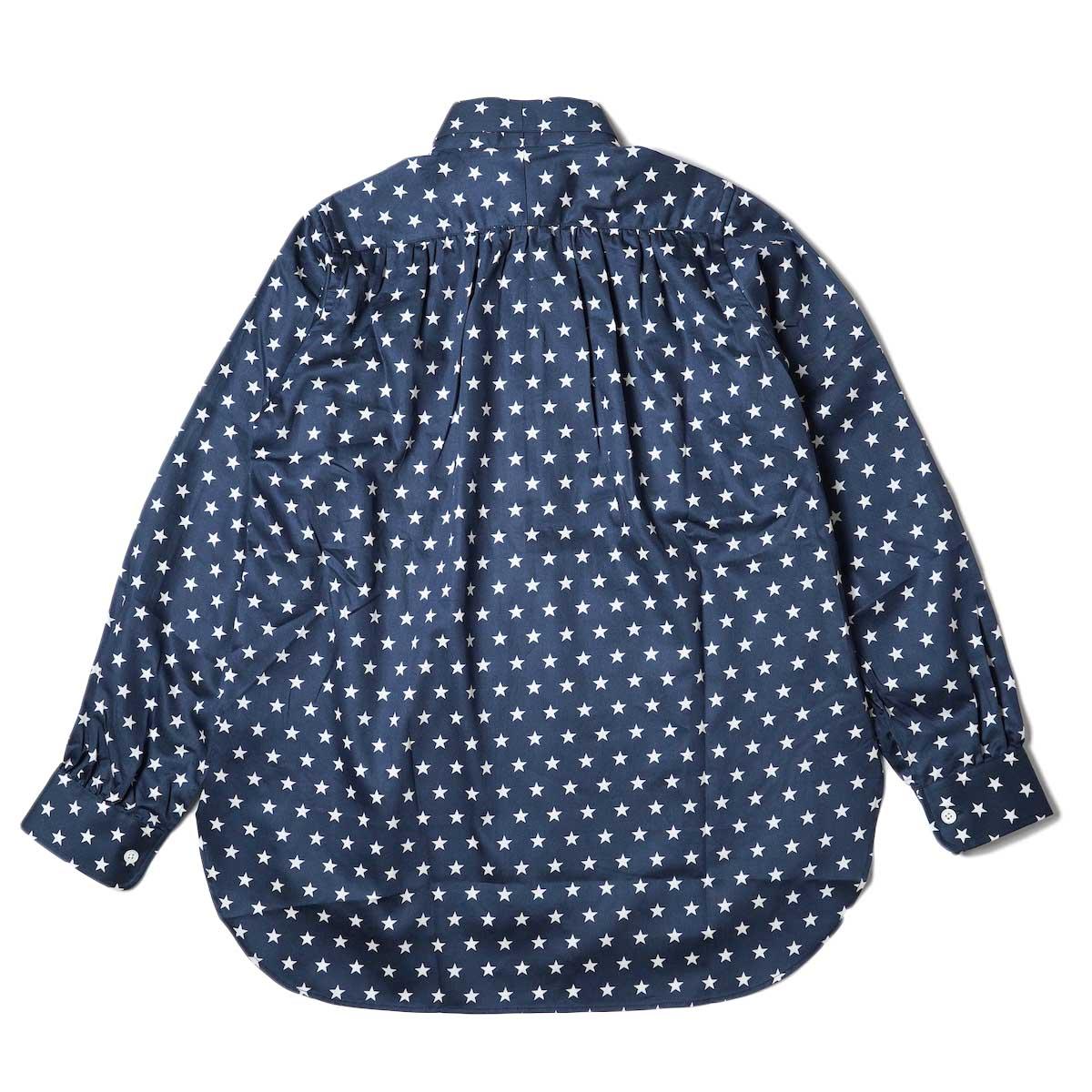Needles / Ascot Collar EDW Shirt - Cotton Sateen / Pt (Star B) 背面