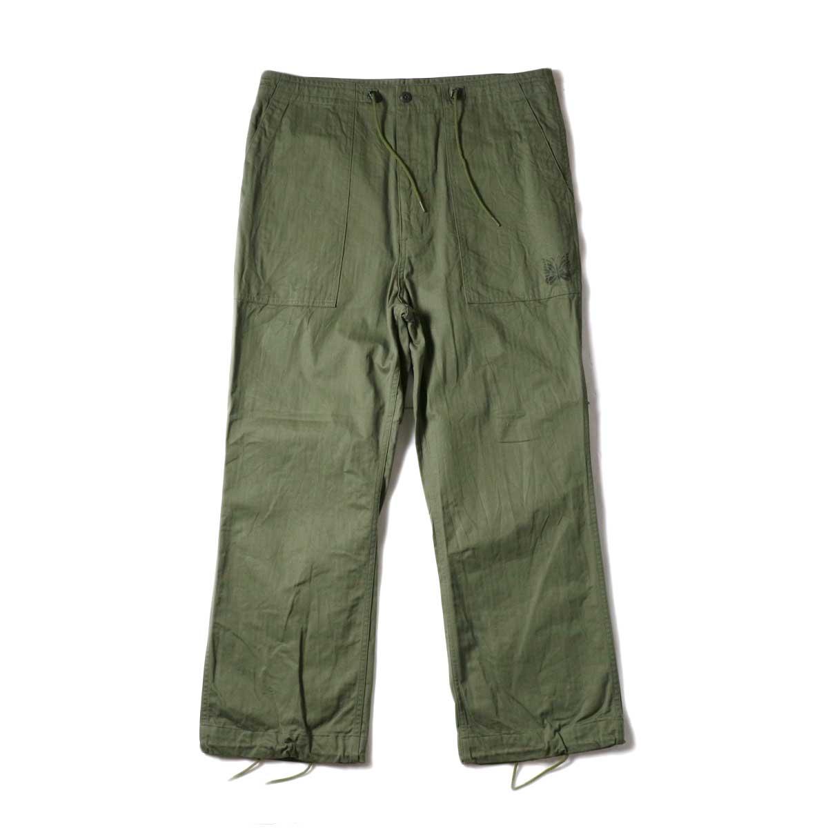 Needles / String Fatigue Pant - Cotton Herringbone (Olive)