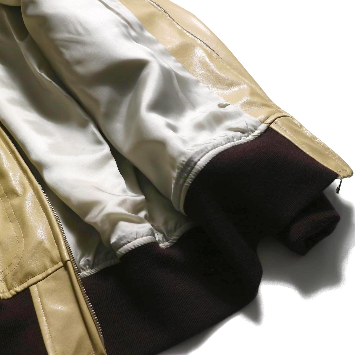 NEEDLES / G-1 Jacket -Synthetic Leather ライニング