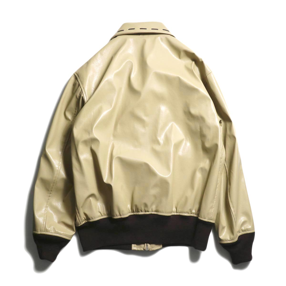 NEEDLES / G-1 Jacket -Synthetic Leather 背面