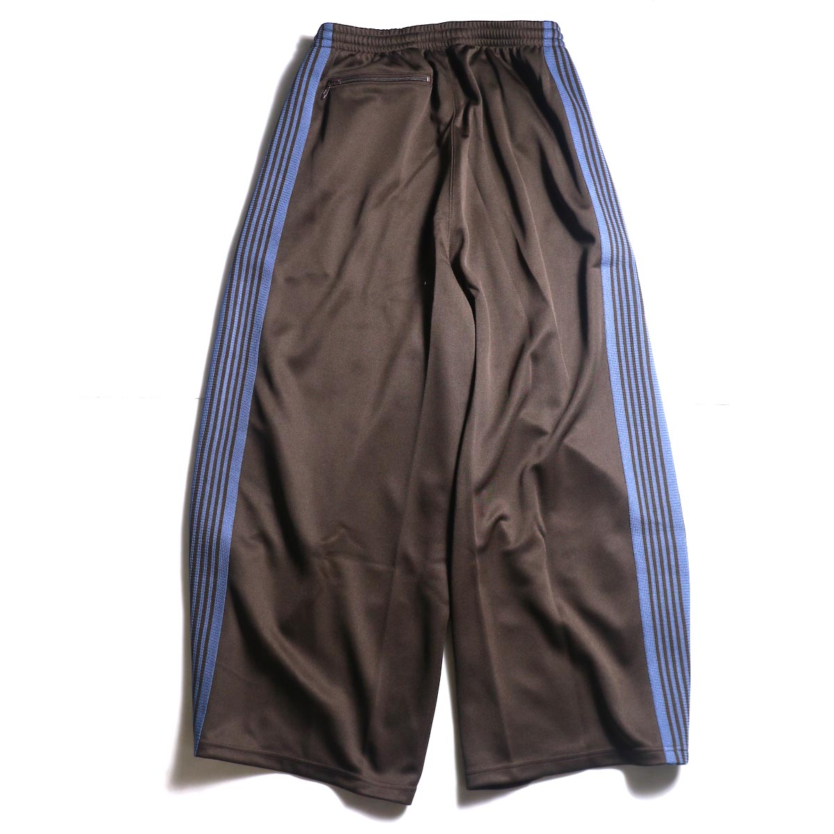 Needles / H.D. TRACK PANT - POLY SMOOTH (Brown)背面