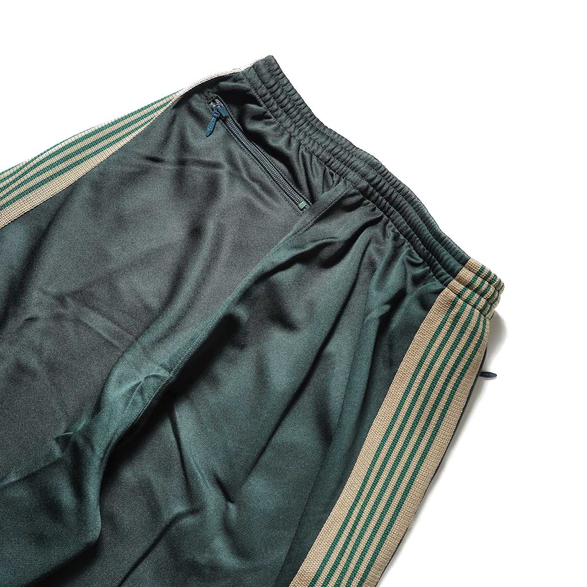 Needles / H.D. Track Pant -PolySmooth (Dk.Green)ヒップポケット