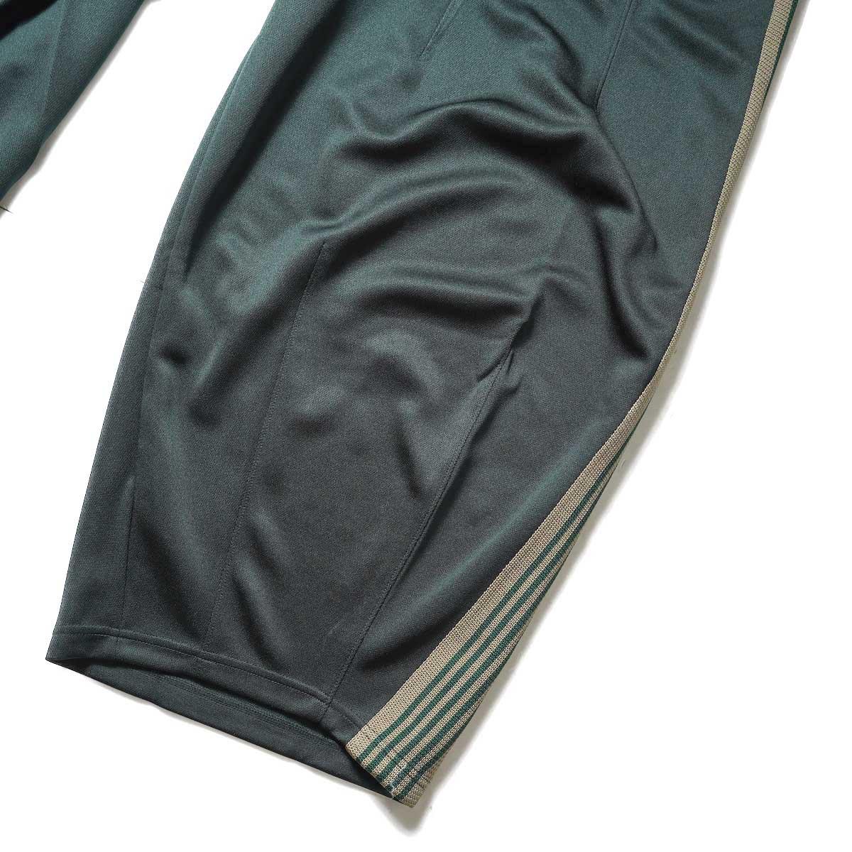 Needles / H.D. Track Pant -PolySmooth (Dk.Green)裾