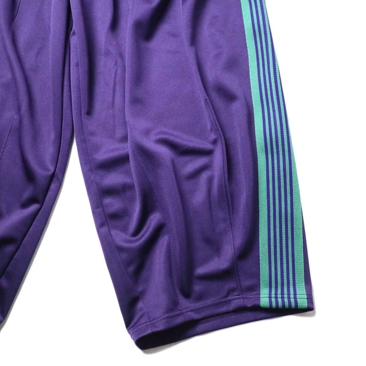 Needles / H.D. TRACK PANT - POLY SMOOTH (Eggplant)裾