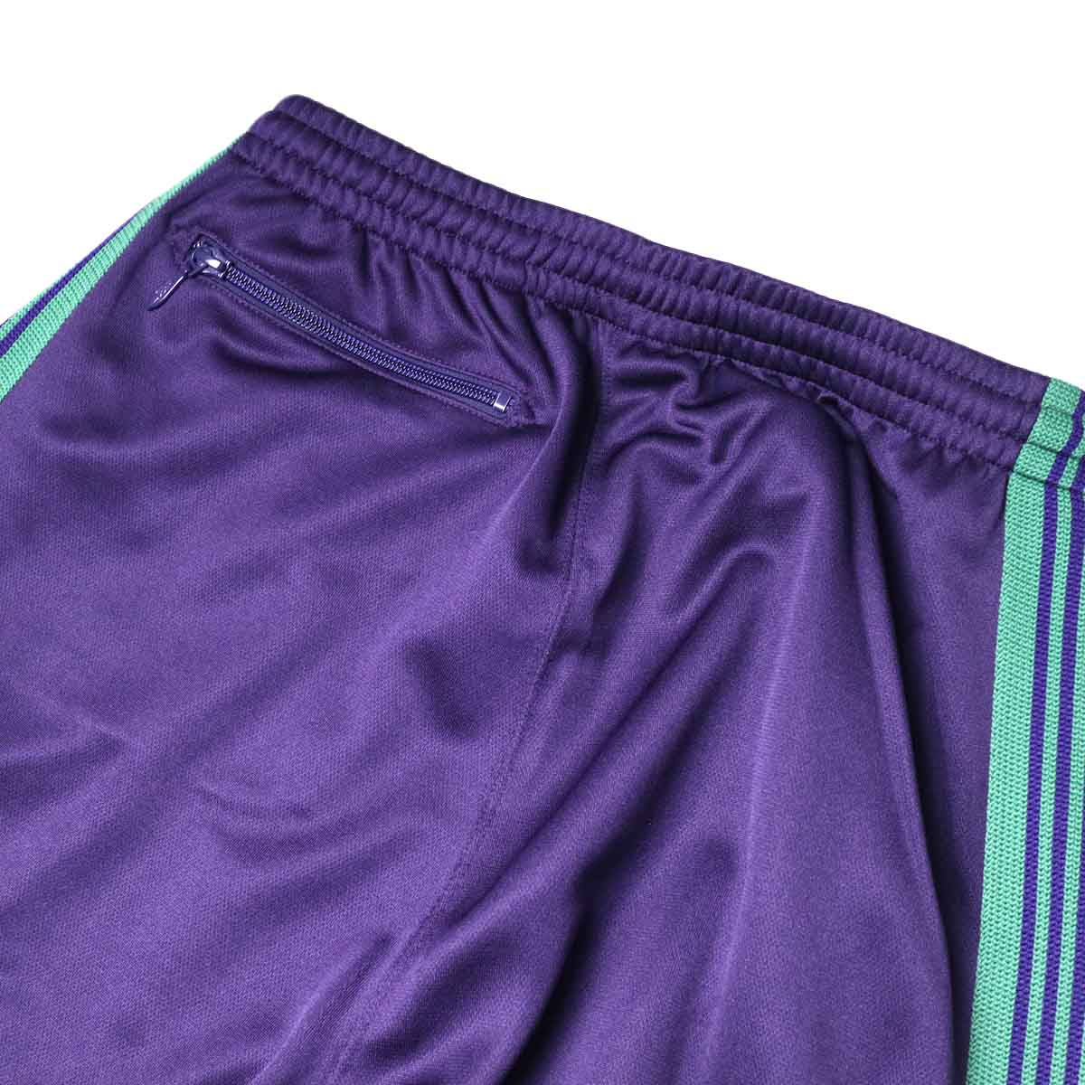 Needles / H.D. TRACK PANT - POLY SMOOTH (Eggplant)ヒップポケット