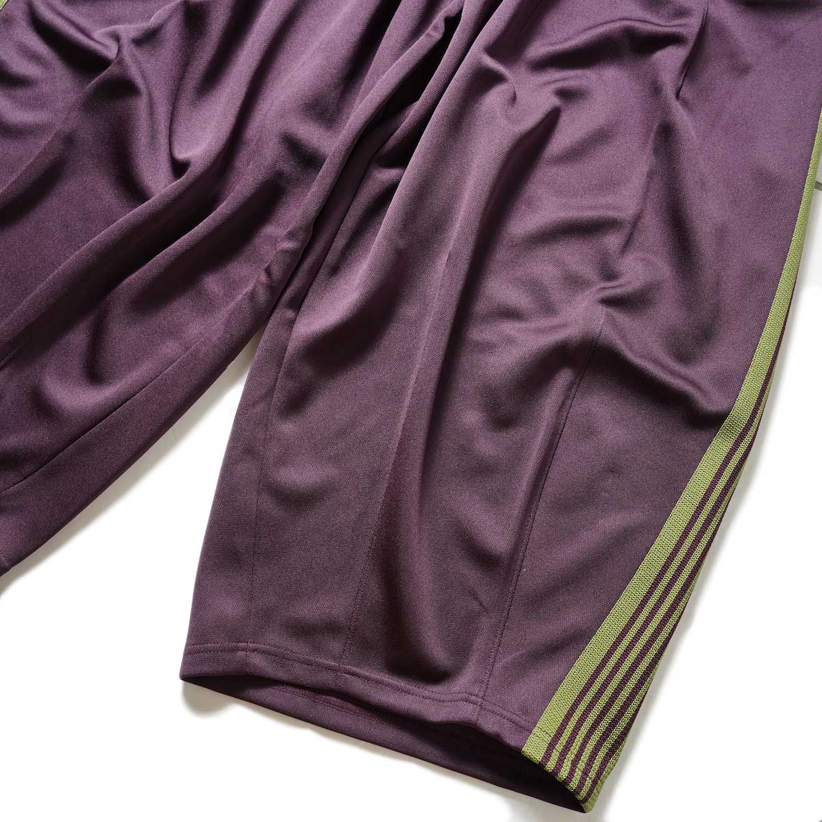 Needles / H.D. Track Pant -PolySmooth (Maroon)裾