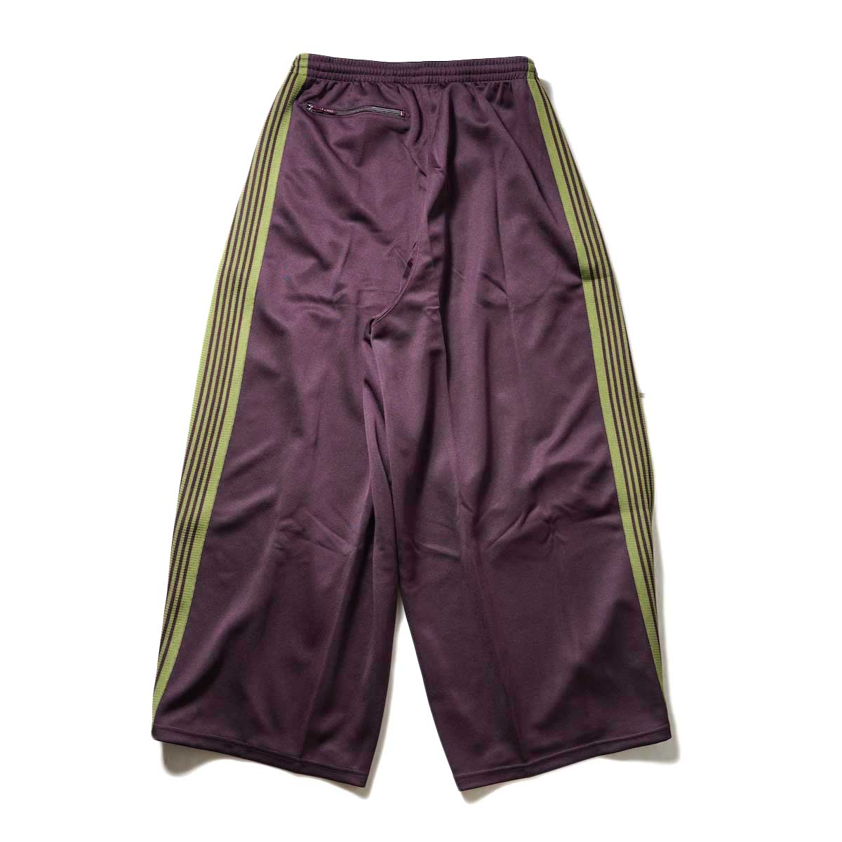 Needles / H.D. Track Pant -PolySmooth (Maroon)背面