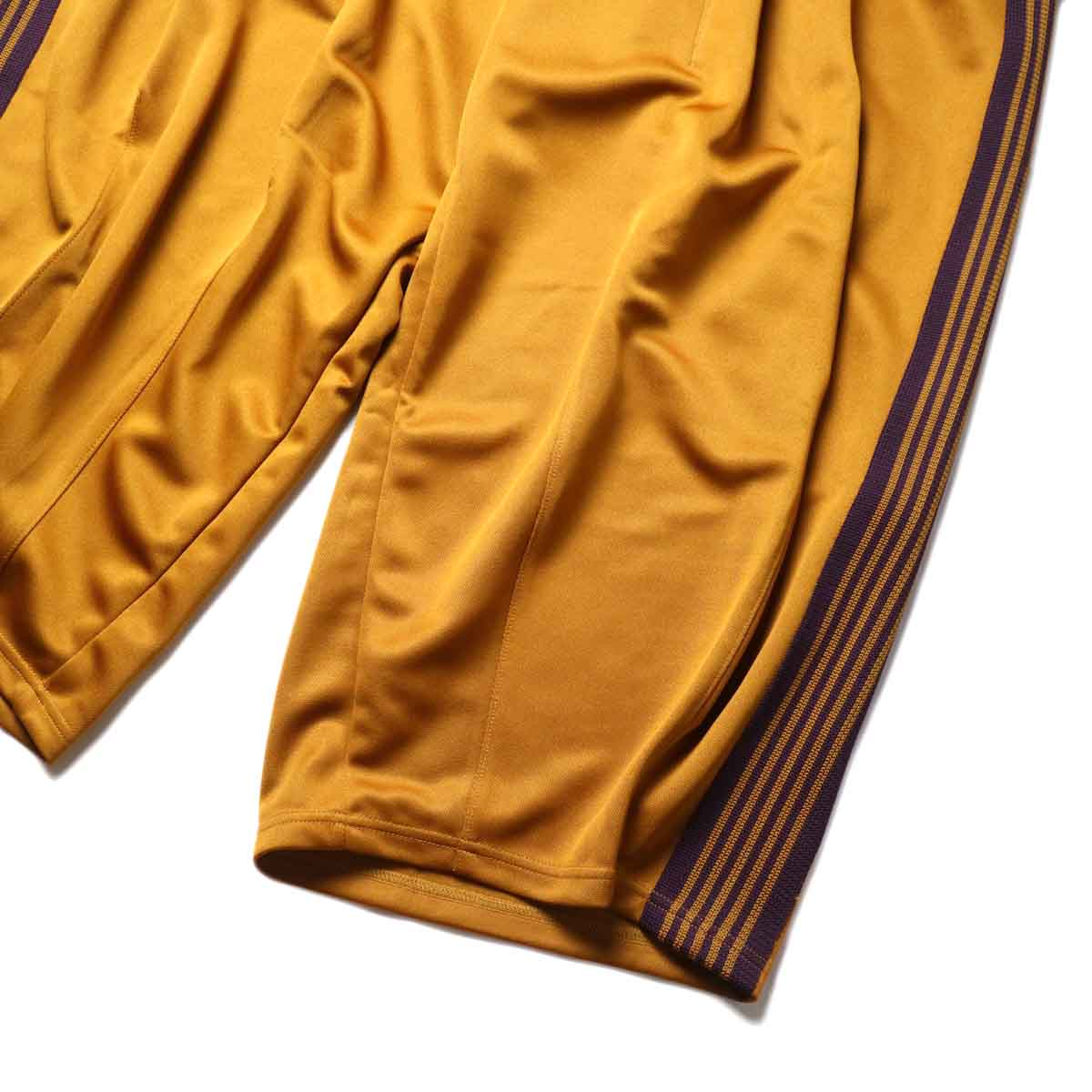 Needles / H.D. TRACK PANT - POLY SMOOTH (Mustard)裾