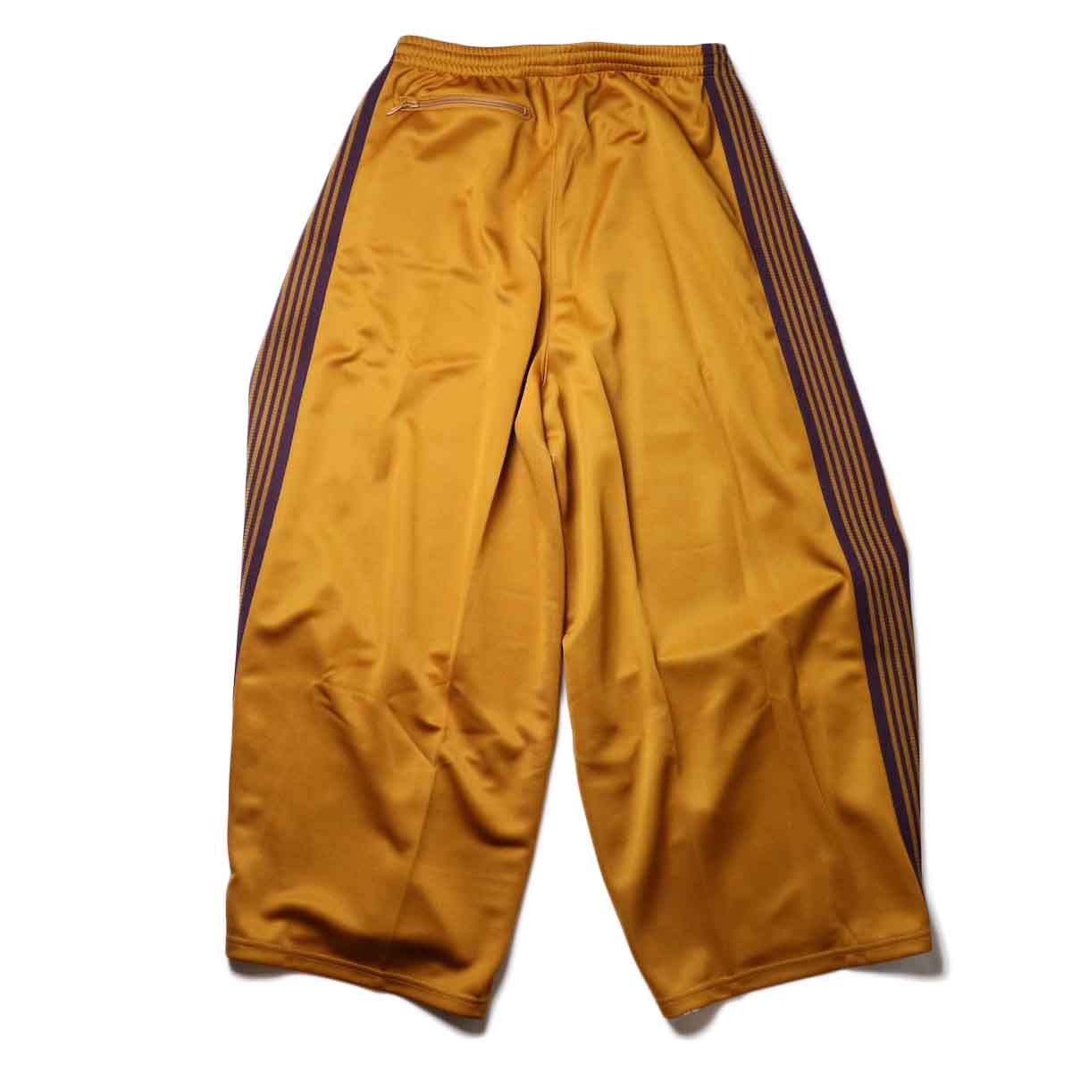 Needles / H.D. TRACK PANT - POLY SMOOTH (Mustard)背面