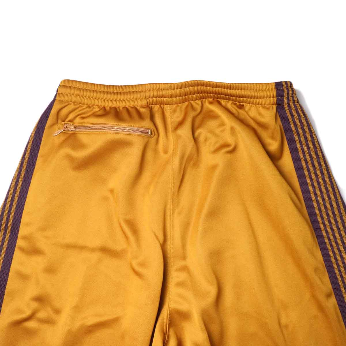 Needles / H.D. TRACK PANT - POLY SMOOTH (Mustard)ヒップポケット