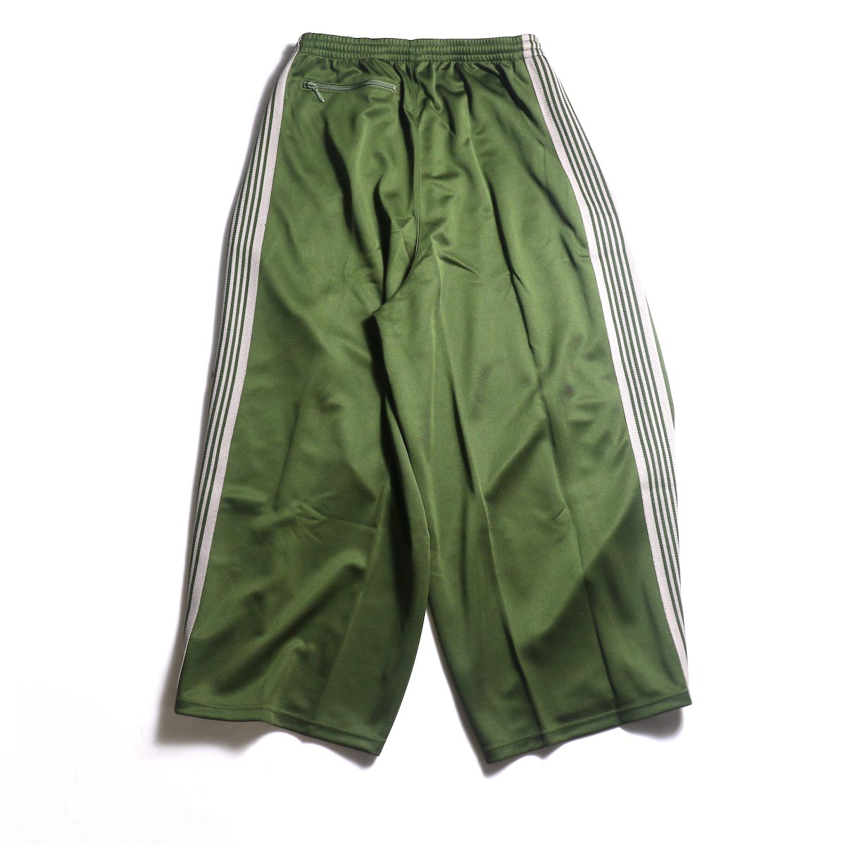 Needles / H.D. TRACK PANT - POLY SMOOTH (Olive)背面