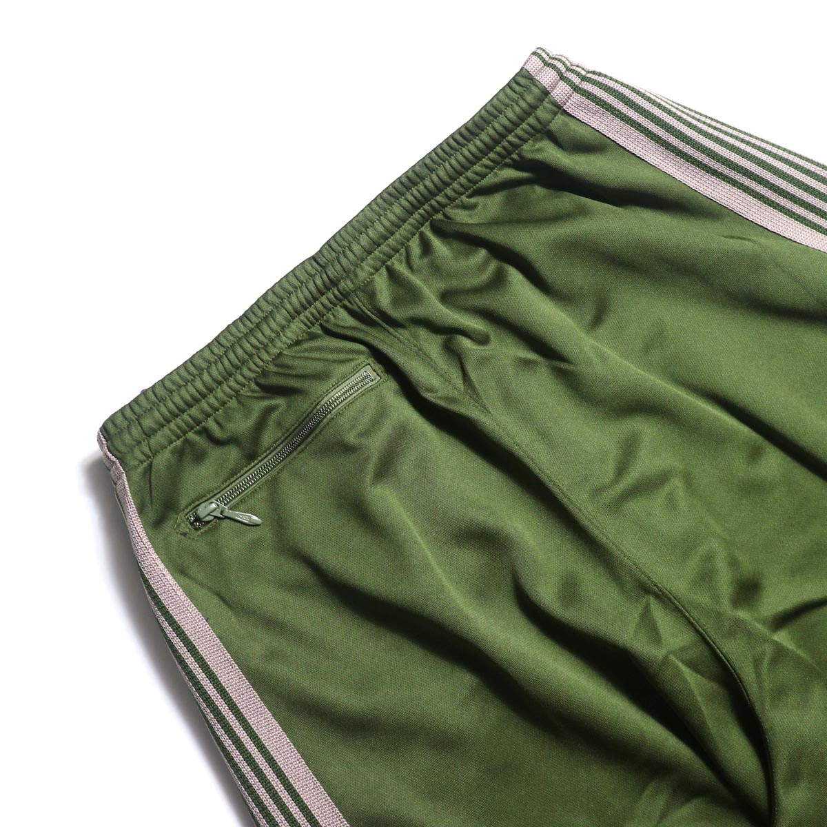 Needles / H.D. TRACK PANT - POLY SMOOTH (Olive)ヒップポケット