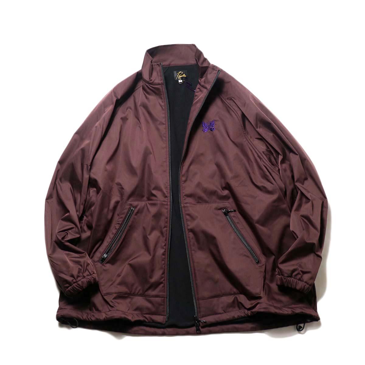 Needles / JOG Jacket - Poly Taffeta (Bordeaux)