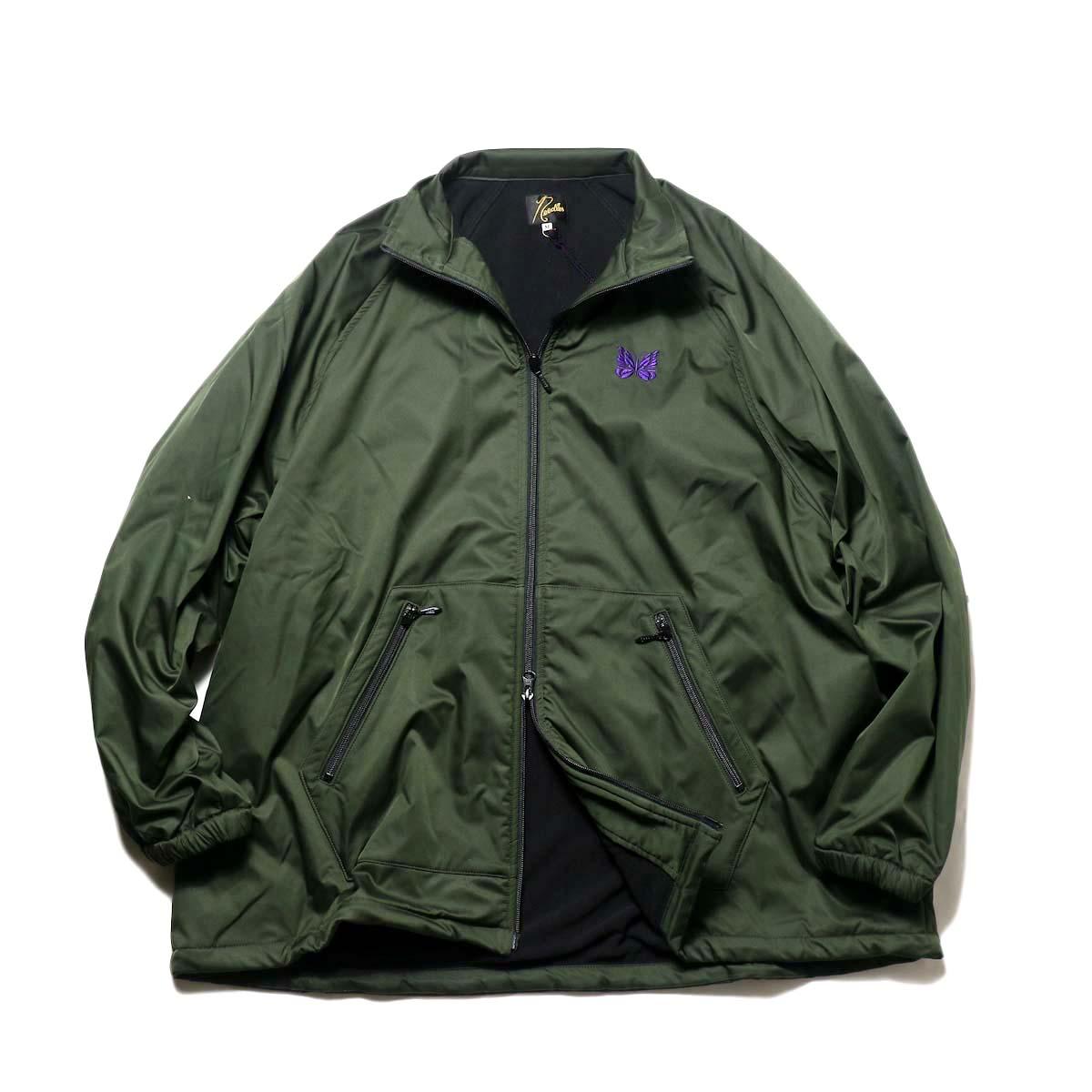 Needles / JOG Jacket - Poly Taffeta (Green)