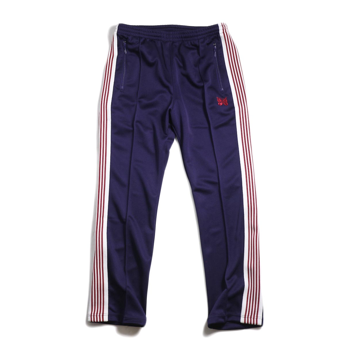 Needles / Narrow Track Pant -Poly Smooth (Eggplant)
