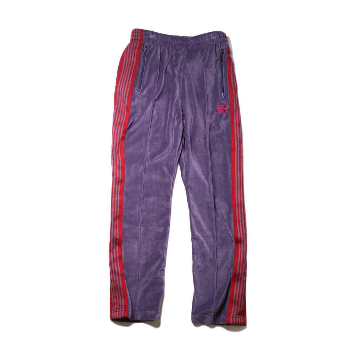 Needles / Narrow Track Pant -C/Pe Velour (Purple)