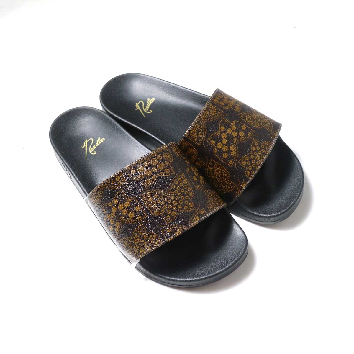 NEEDLES / Shower Sandals -Papillon PVC (Brown)正面