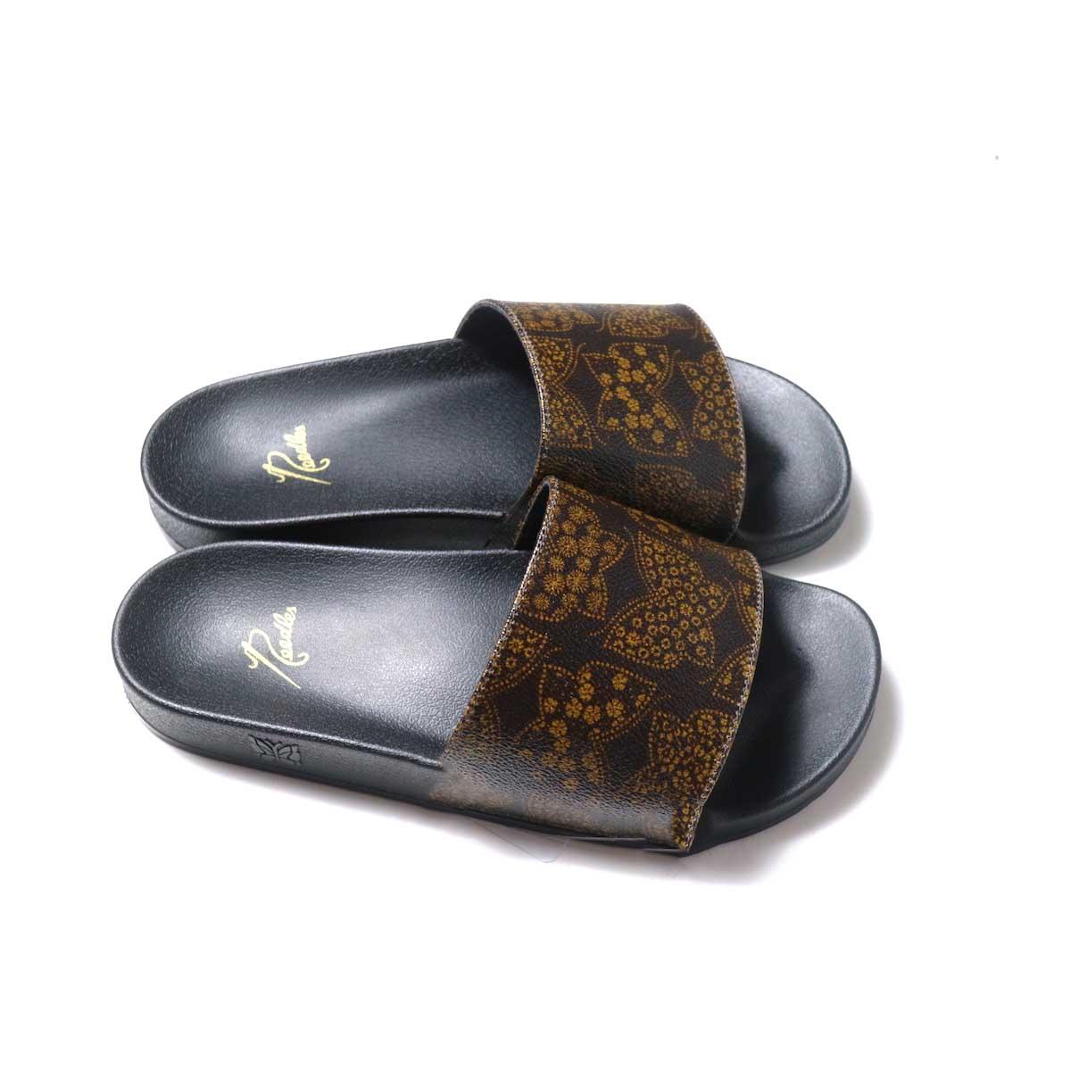 NEEDLES / Shower Sandals -Papillon PVC (Brown)横