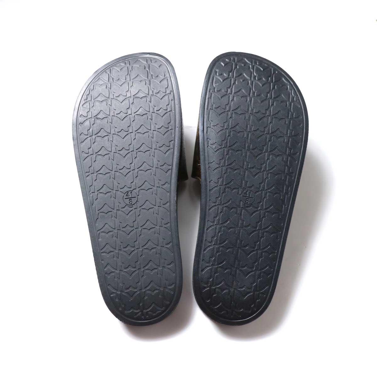 NEEDLES / Shower Sandals -Papillon PVC (Brown)サイド