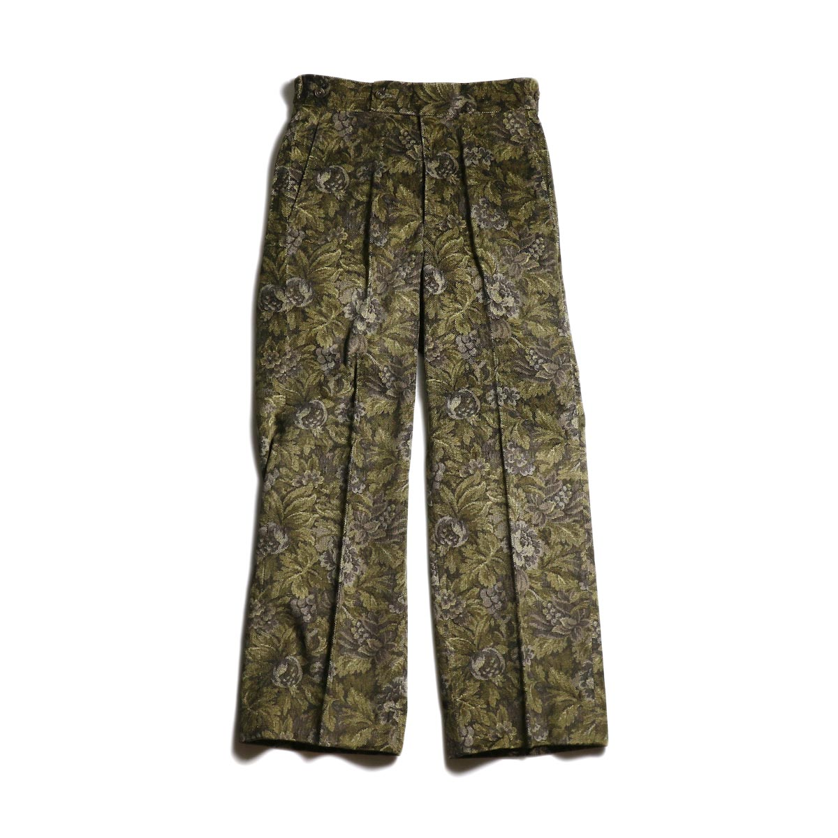 Needles / Side Tab Trouser -Dobby Corduroy (Brown)