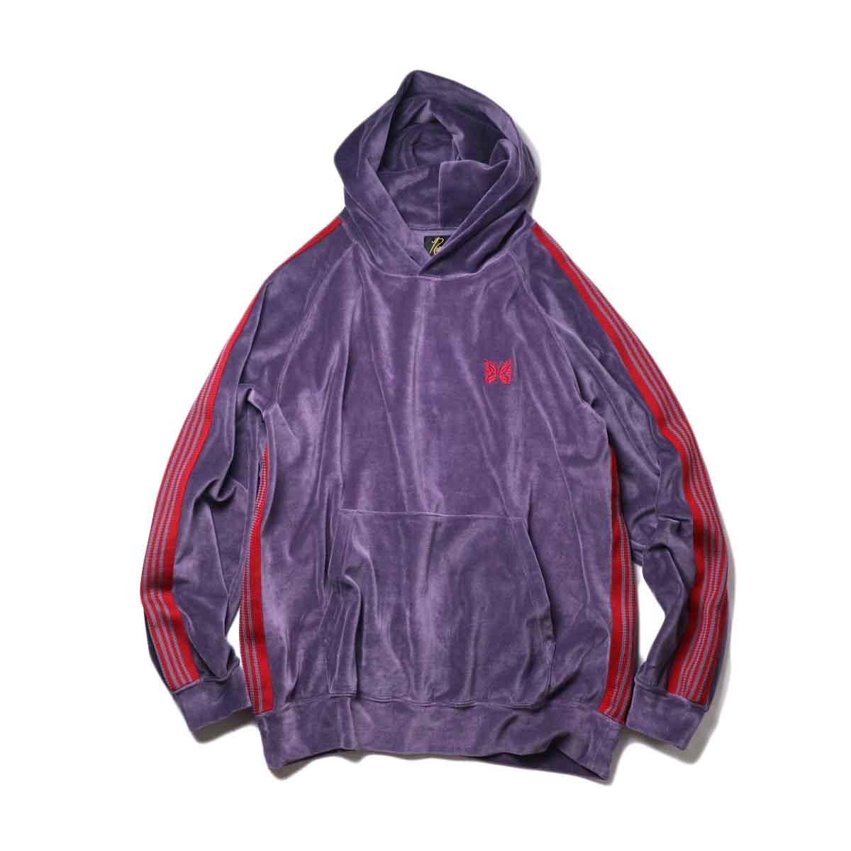 Needles / Track Hoody -C/Pe Velour (Purple)