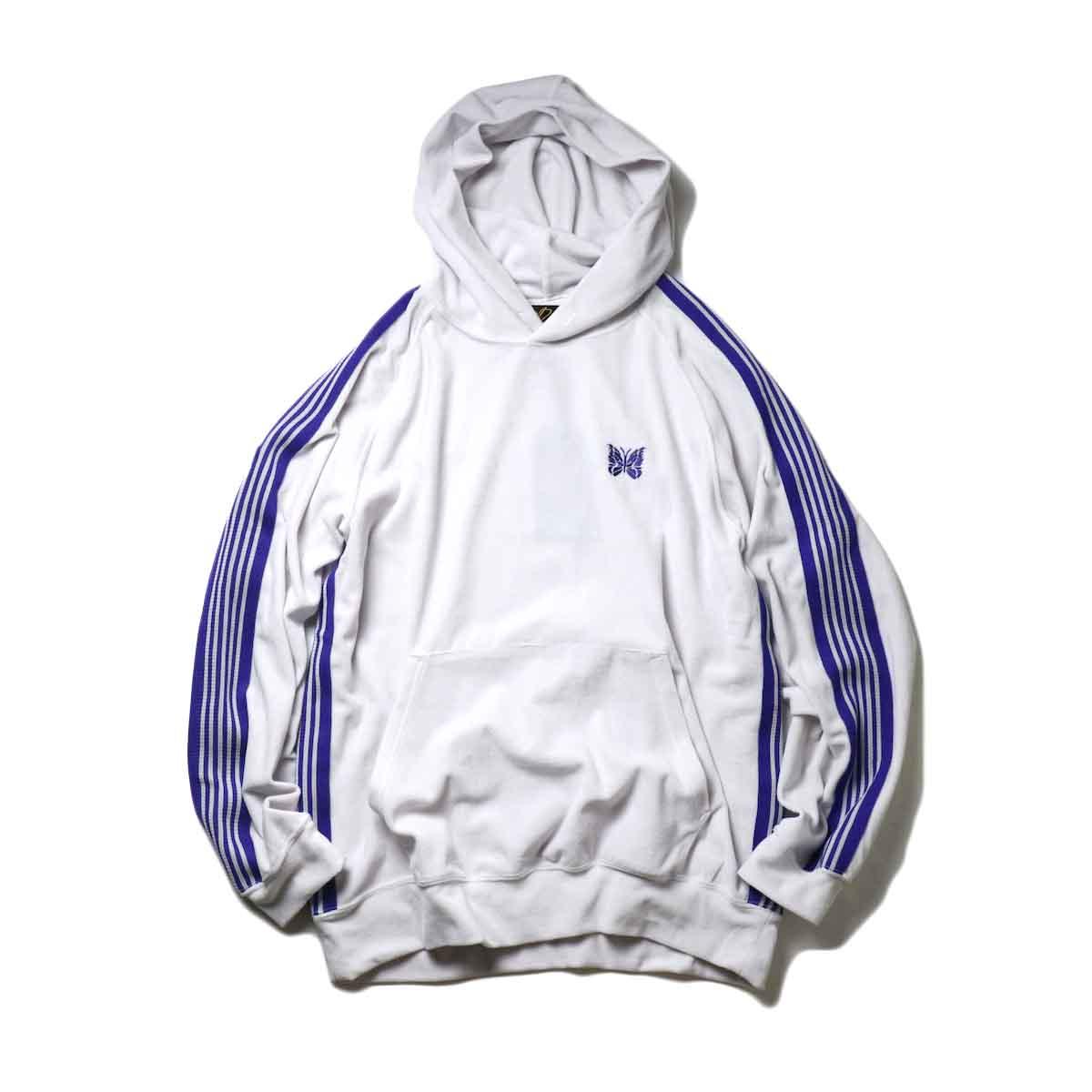 Needles / Track Hoody -C/Pe Velour (White)