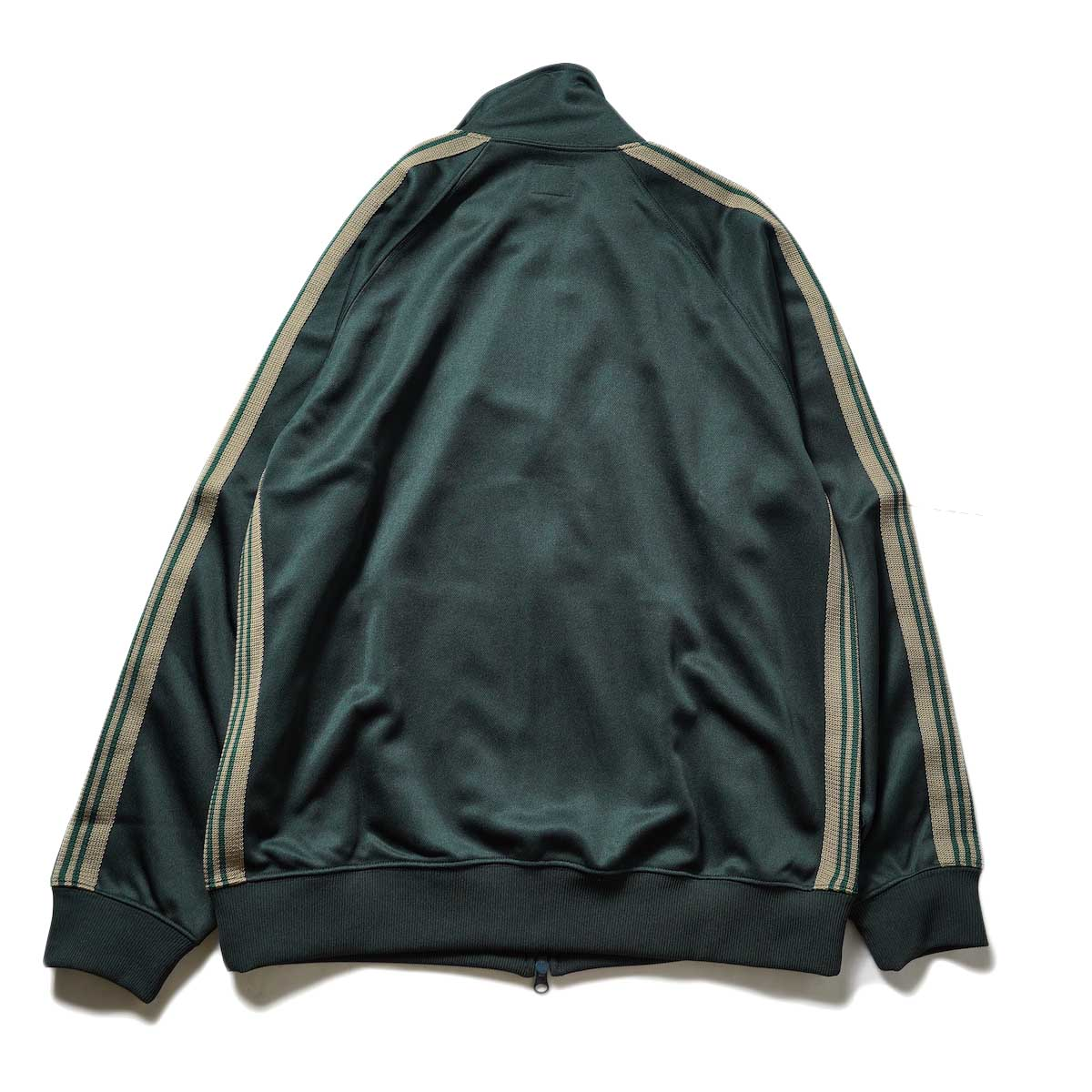 Needles / Track Jacket -Poly Smooth (Dk.Green)背面