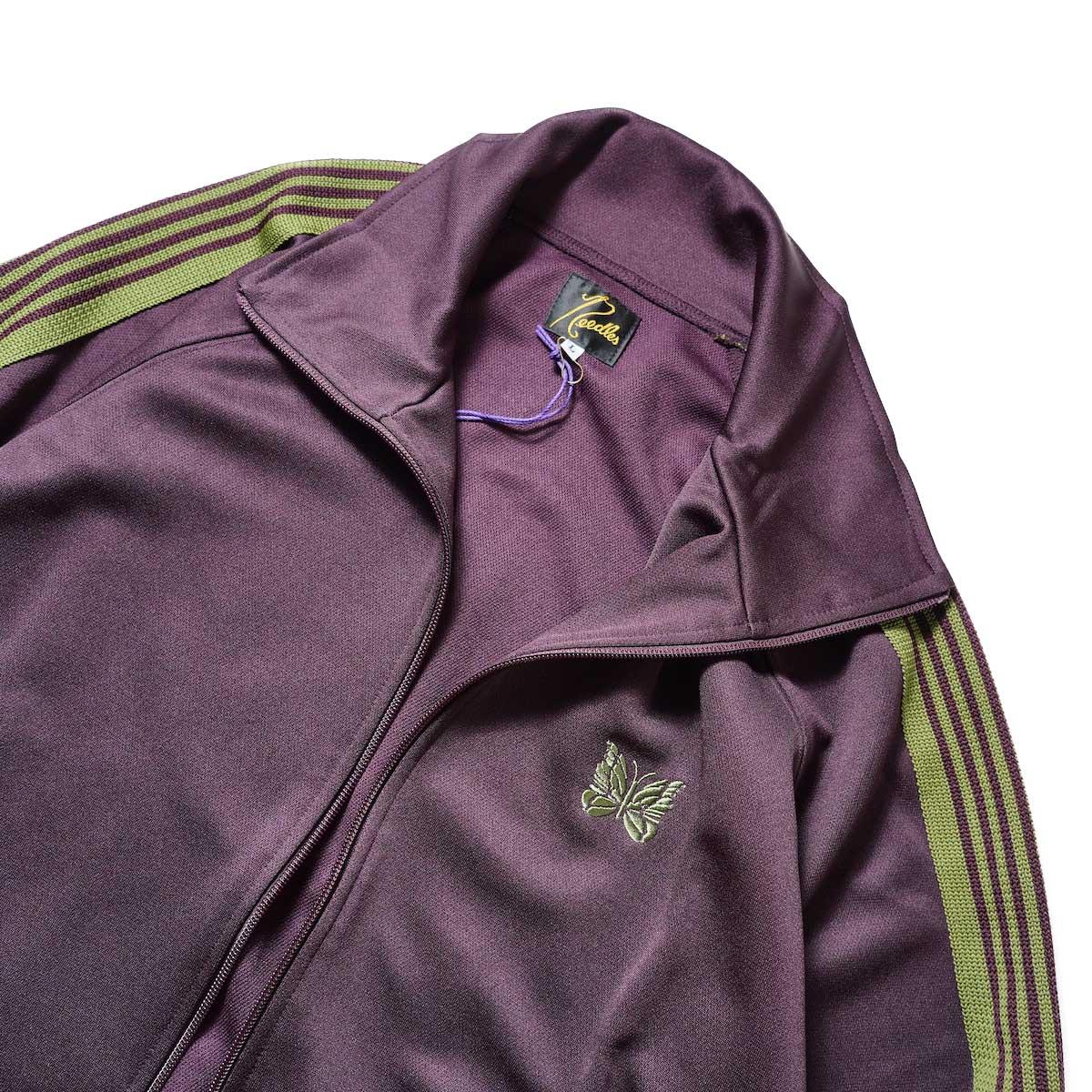 Needles / Track Jacket -Poly Smooth (Dk.Green)襟