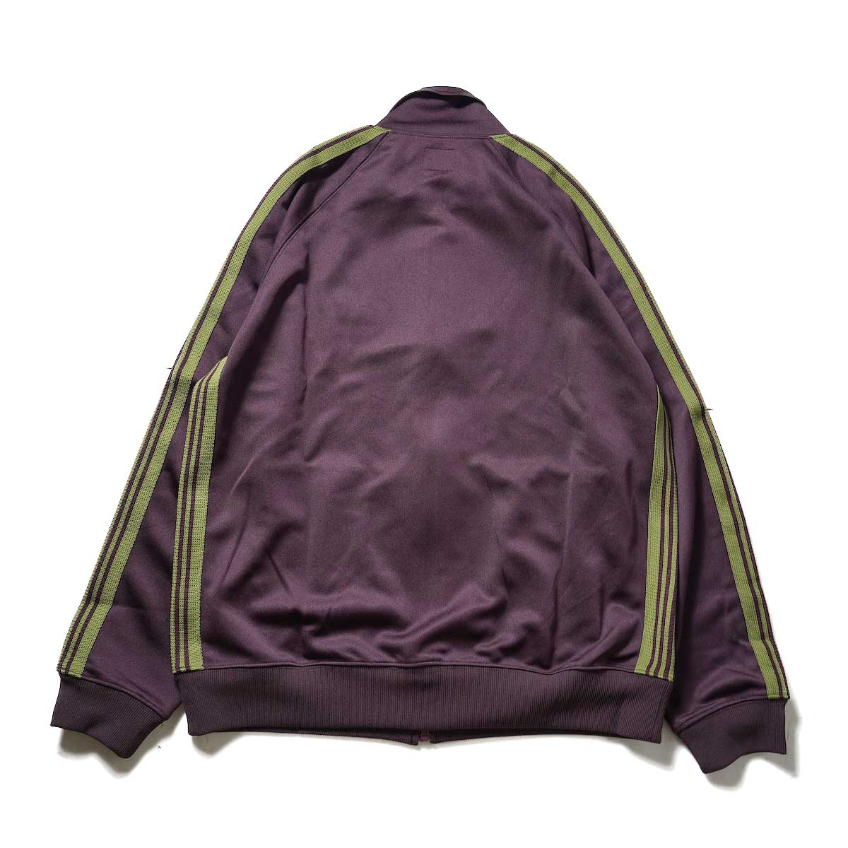 Needles / Track Jacket -Poly Smooth (Maroon)背面