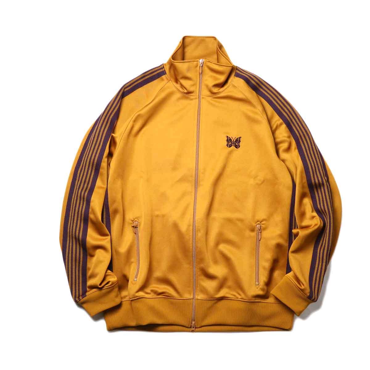 Needles / Track Jacket -Poly Smooth (Mustard)