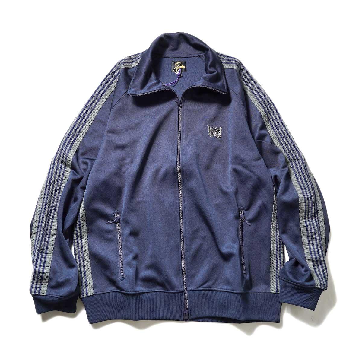 Needles / Track Jacket -Poly Smooth (Navy)