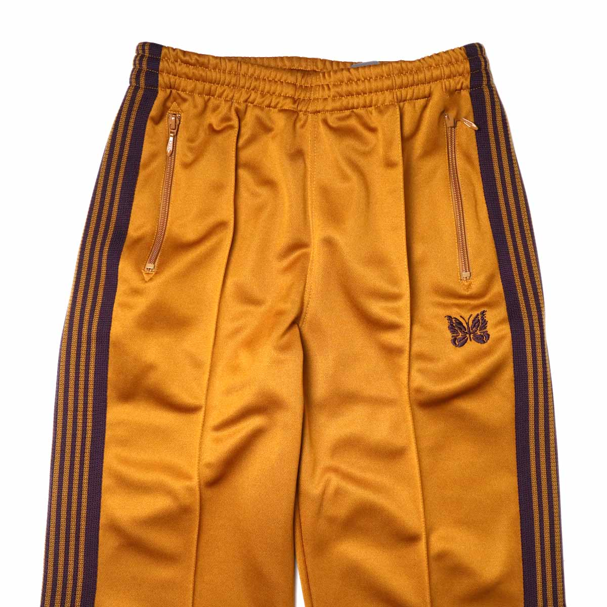 Needles / Track Pant -Poly Smooth (Mustard)ウエスト