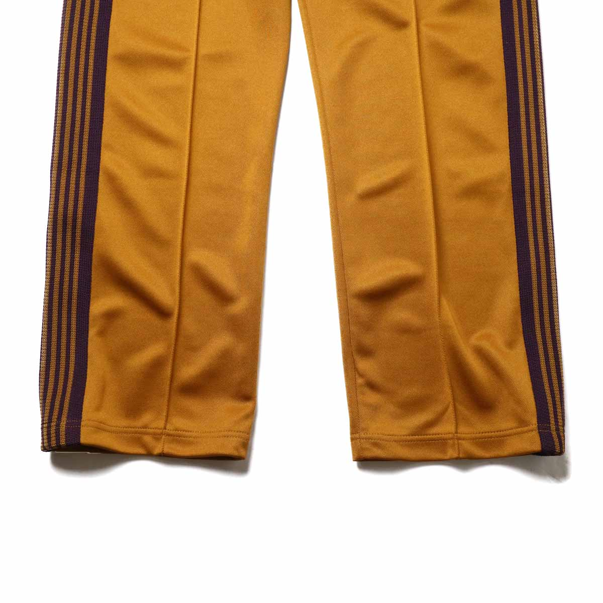 Needles / Track Pant -Poly Smooth (Mustard)裾