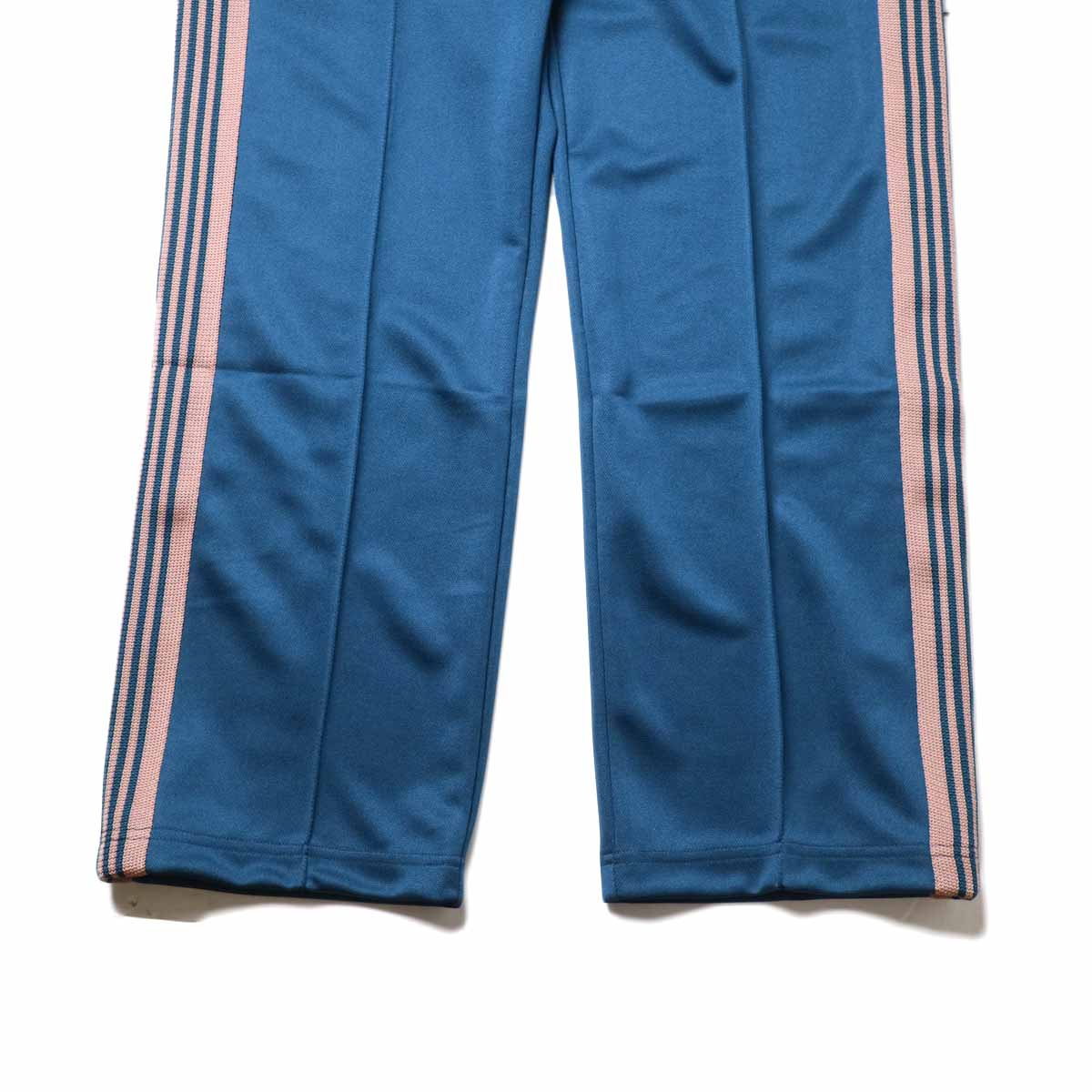 Needles / Track Pant -Poly Smooth (Teel Green)裾
