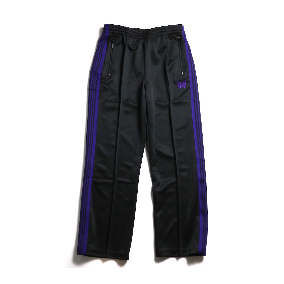 Needles / Track Pants - Poly Smooth (Black)