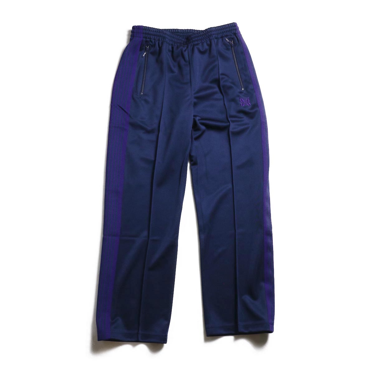 Needles / Track Pants - Poly Smooth (Navy)
