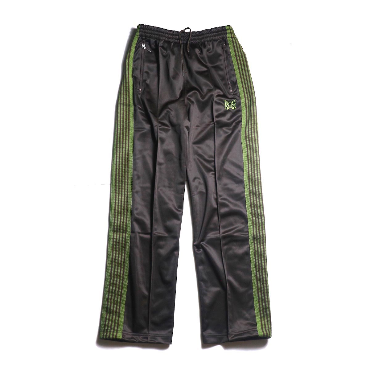 Needles / Track Pants -Pe/Ta Tricot (Brown)