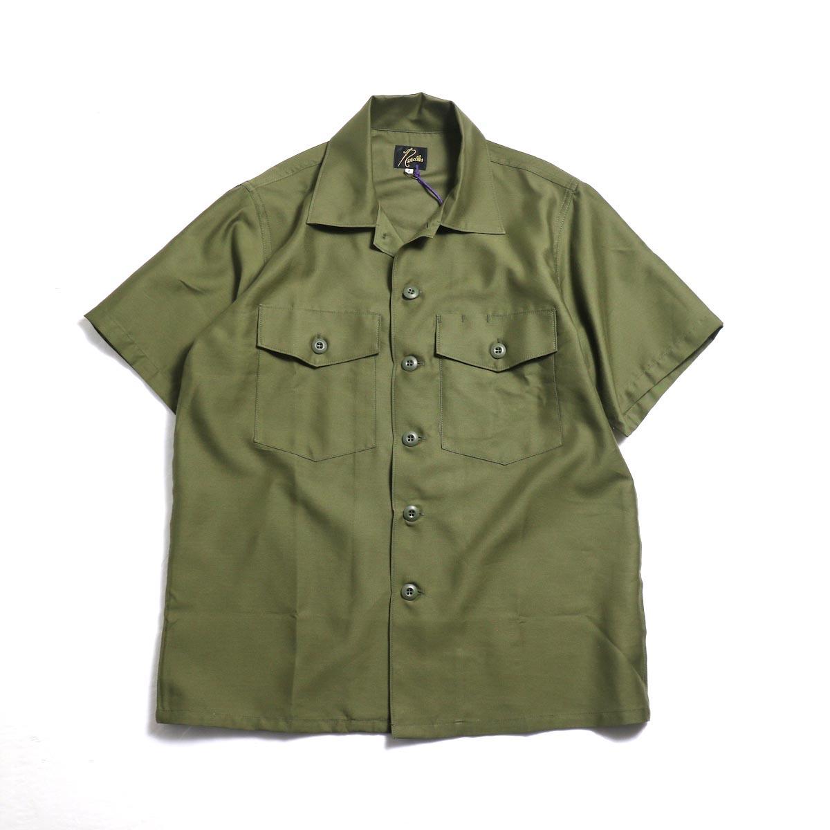 Needles Women / S/S Army Shirt -T/C Back Sateen