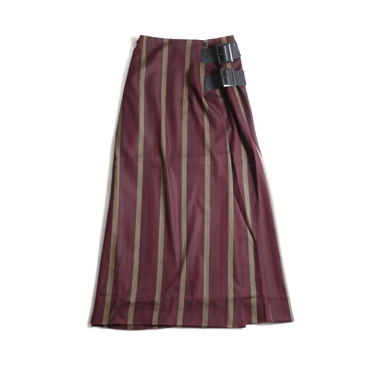 Needles / Wrap Skirt -Hb.stripe