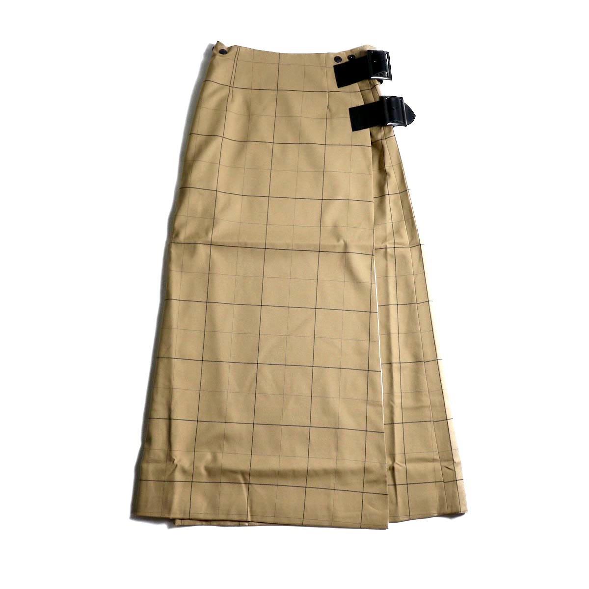 Needles / Wrap Skirt -WindowpaneNeedles / Wrap Skirt -Windowpane