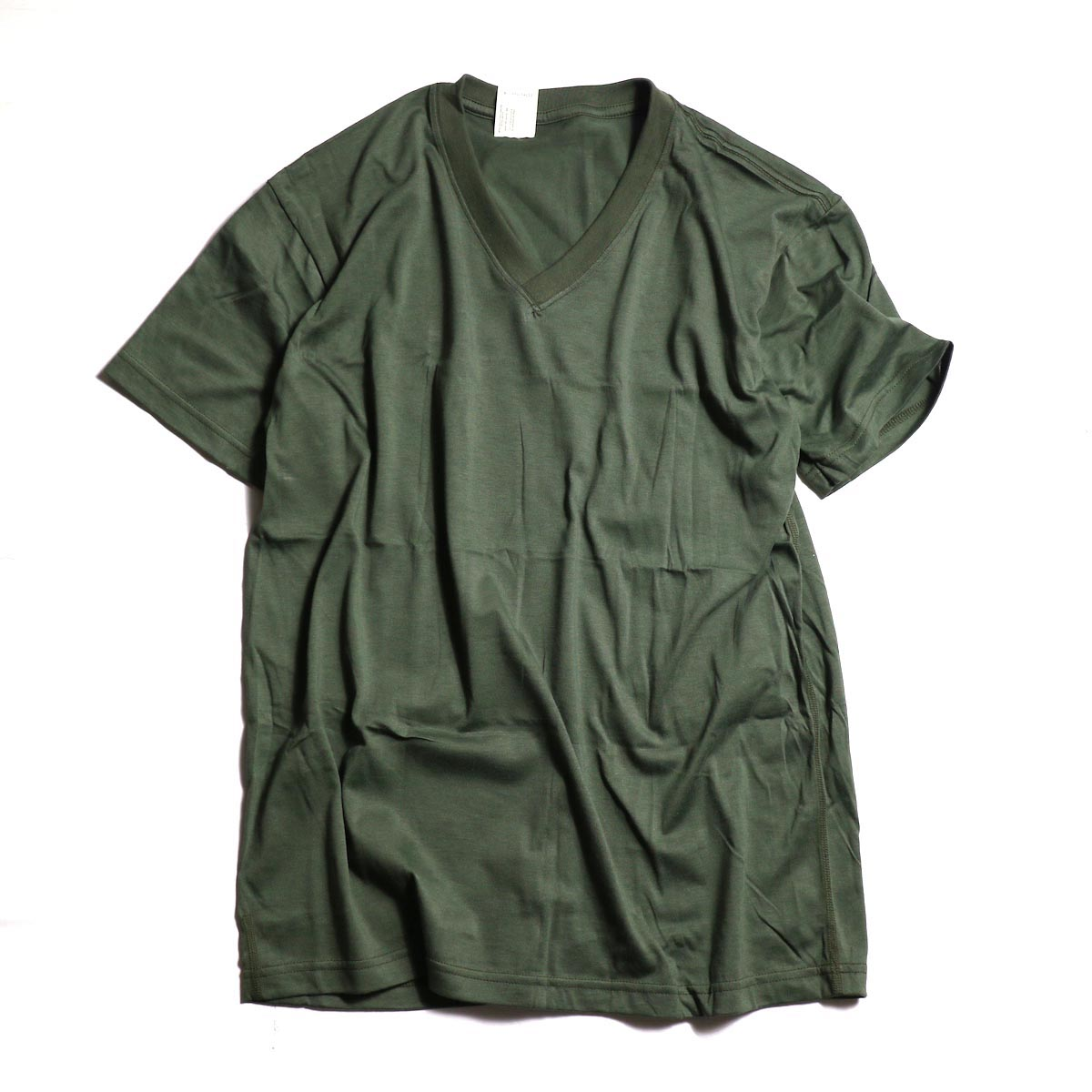 N.HOOLYWOOD T.P.E.S. BARRACKS KIT /  17-6225 V NECK T-SHIRT -OLIVE