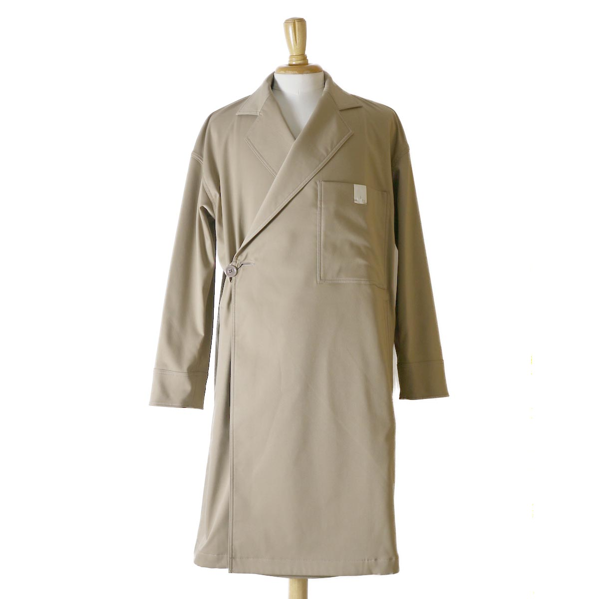 N.HOOLYWOOD / 182-CO12-038-pieces OVER COAT -Beige