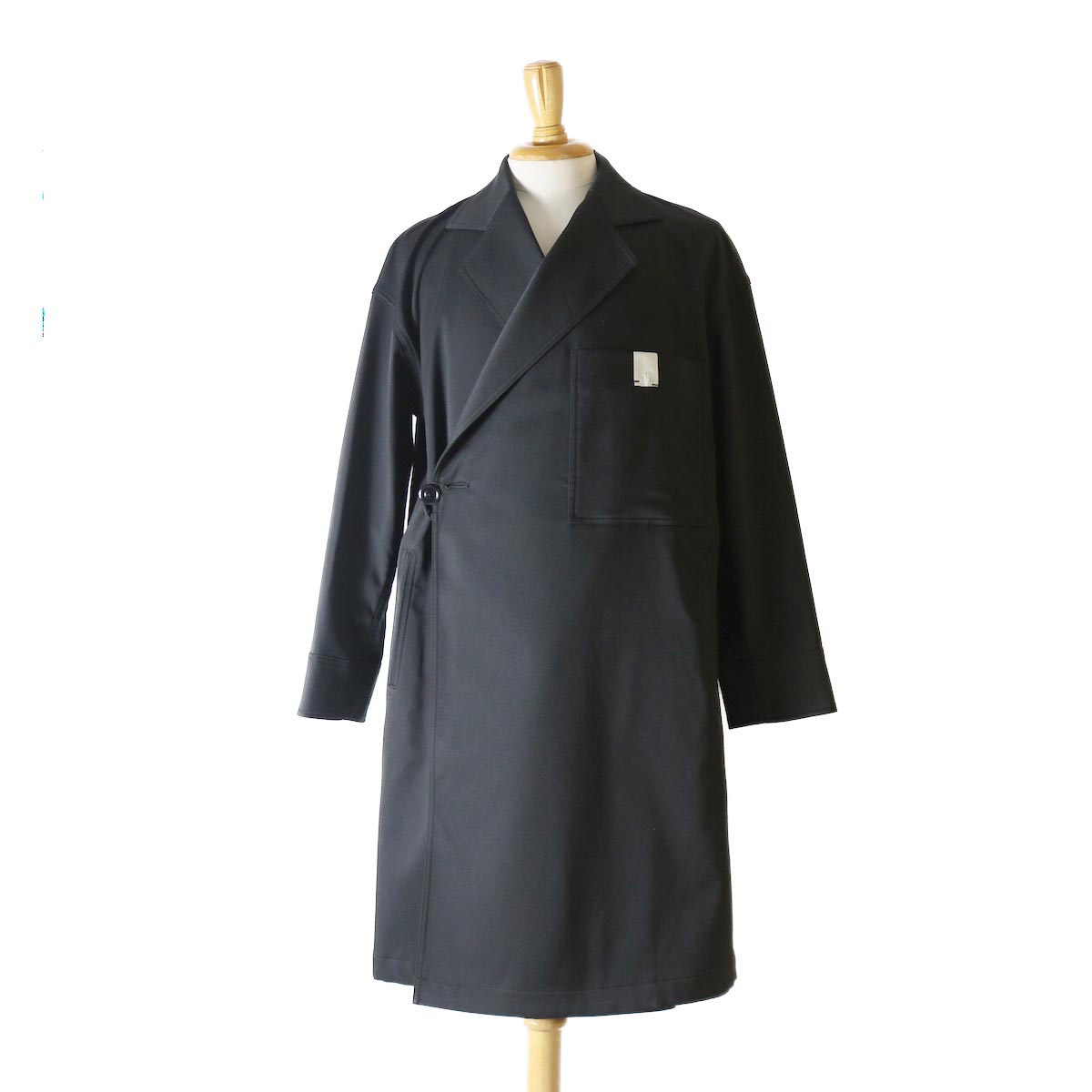 N.HOOLYWOOD / 182-CO12-038-pieces OVER COAT -Black