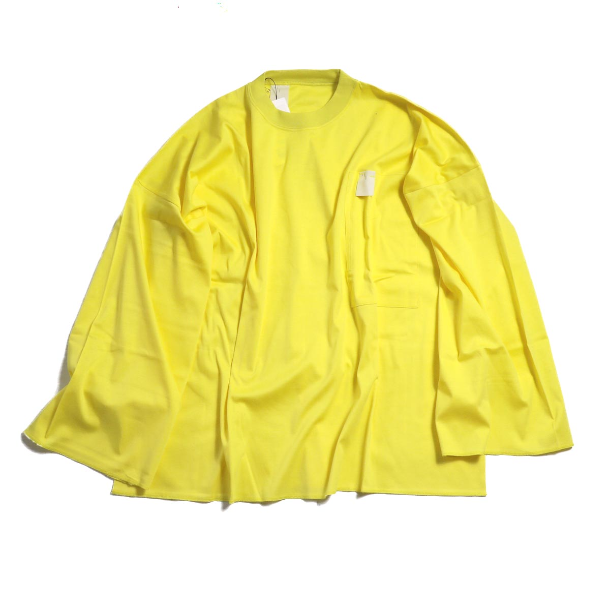 N.HOOLYWOOD  /  182-CS20-048 pieces LONG SLEEVE Tee -YELLOW