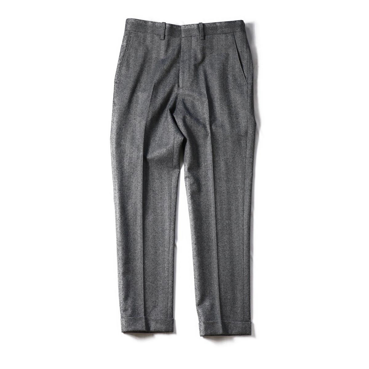 N.HOOLYWOOD /182-PT02-027-pieces HB SLIM SLACKS -Gray