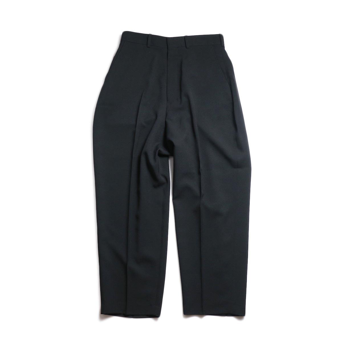 N.HOOLYWOOD / 191-PT05-034-pieces Wide Slacks (Black)