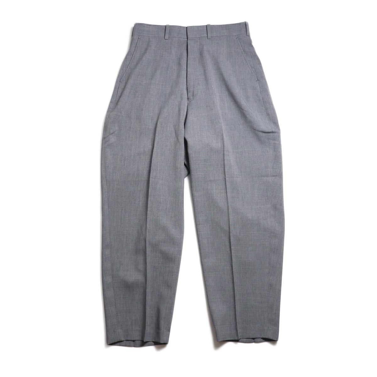 N.HOOLYWOOD / 191-PT05-034-pieces Wide Slacks (Gray)